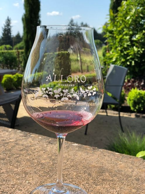 The Allure of Alloro: A European Wine Tasting Experience